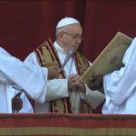 Bênção Urbi et Orbi do Papa, do dia de Natal