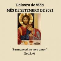 Palavra de Vida – Mês de Setembro de 2021